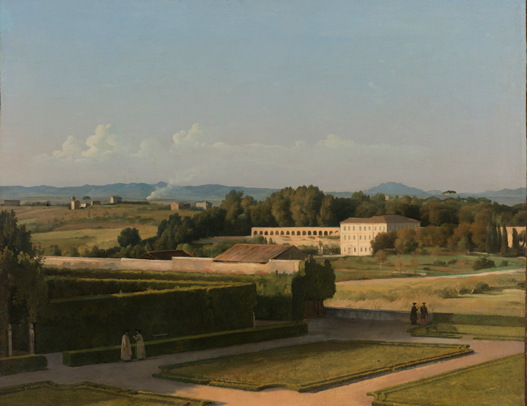 Gods And Foolish Grandeur View Of The Gardens Of Villa