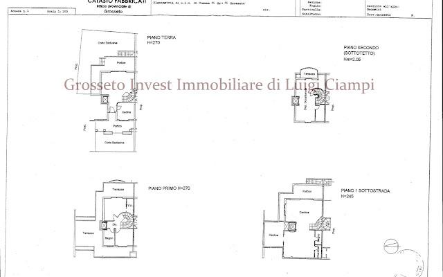 Agenzia immobiliare grosseto invest di ciampi dr luigi for Piccole planimetrie della cabina avvolgono il portico