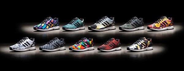 zapatillas adidas Originals #mizxflux 10 nombres 10 diseños