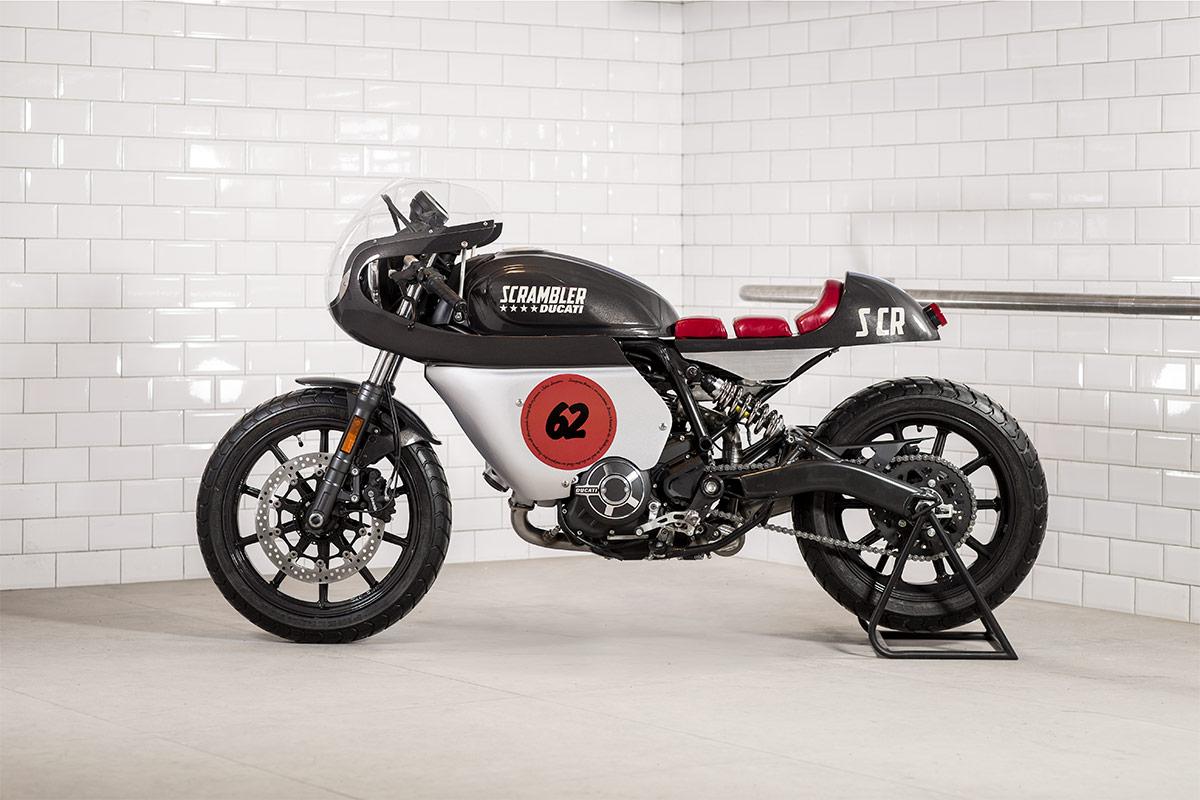 Racing Caf U00e8  Ducati Scrambler Sixty2  U0026quot Peace U0026quot  By Mrmartini