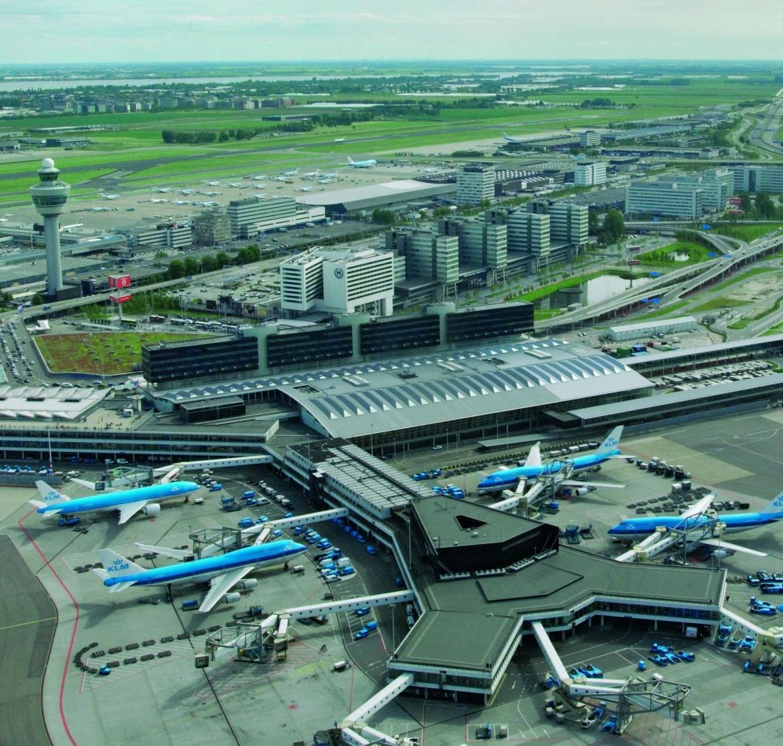 Aeroporto Amsterdam : Sons imagens da holanda schiphol aeroporto