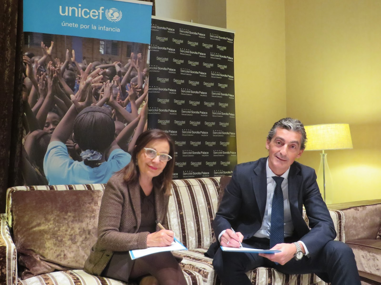 Acuerdo colaboración Sercotel Hoteles y UNICEF