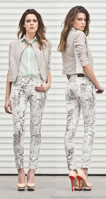 Markova jeans primavera verano 2014. Pantalones de mujer.
