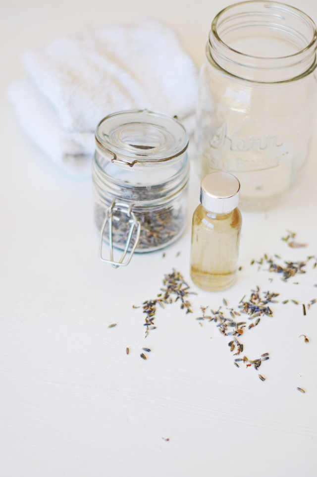 DIY Lavender Facial Cleanser