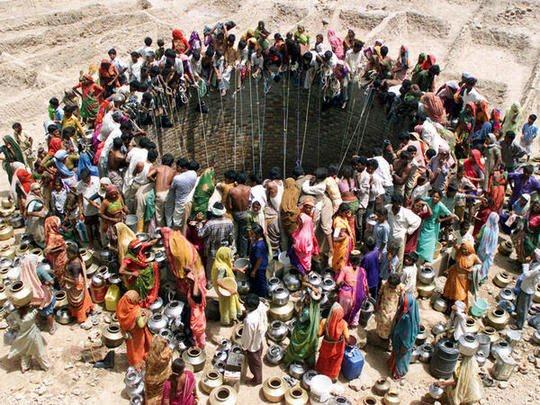 MASM: Pozo de agua (Amit Dave, Natwarghad, Gujarat, India, 2003)