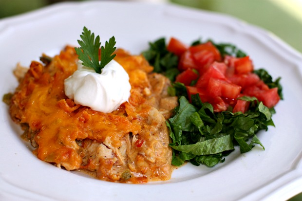 Chicken Dorito Casserole
