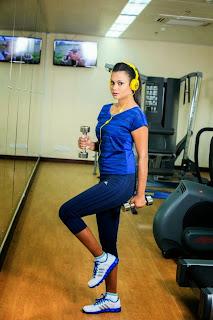 Gayesha Perera gym