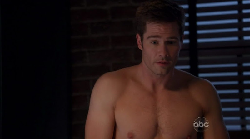 Luke Macfarlane Shirtless on Brothers and Sisters s5e19