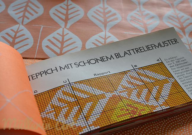Müllerin Art: Teppichmuster (Muster-Mittwoch 151)