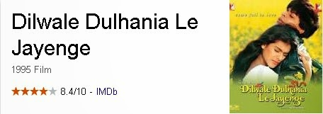 Dilwale Dulhania Le Jayenge - Film India (Bollywood) Terbaik Dan Terpopuler Sepanjang Masa