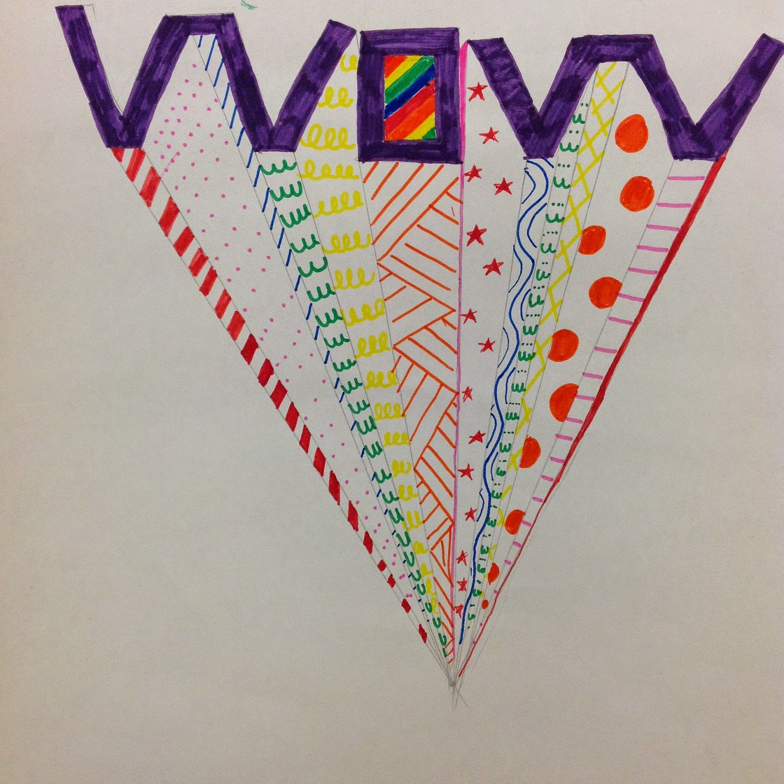 Fourth Grade Art Lesson One Point Perspective