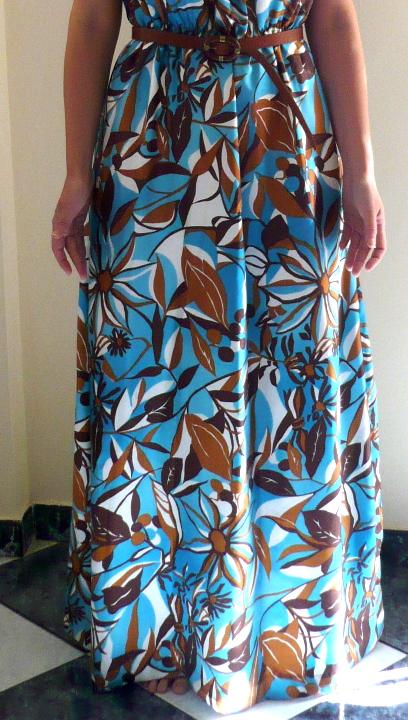 Como hacer un vestido largo de verano