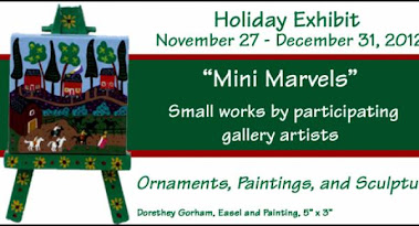 Mini Marvels  Exhibit at Main Street Gallery