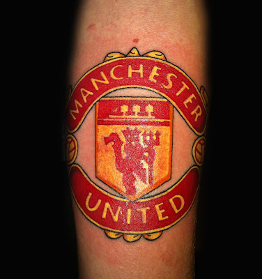 man utd loyalty tattoo designs tattoo tattooskid. Black Bedroom Furniture Sets. Home Design Ideas