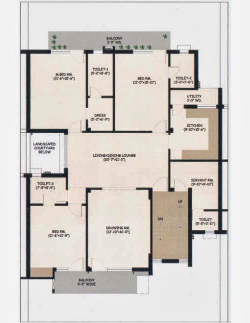 Wave City Floor Plan 2