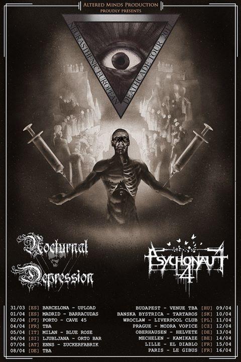 Psychonaut 4 & Nocturnal Depression & Hnus Umírající tickets online