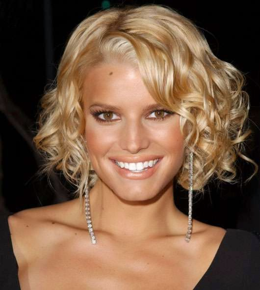 Jessica Simpson Short Celebrity Hairstyles