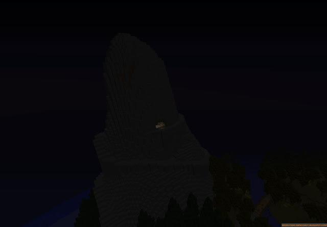 Montaña del mapa Spooky Island 1.8