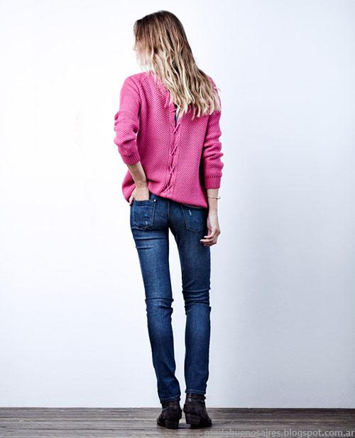 Sweaters invierno 2015 moda mujer Wrangler.