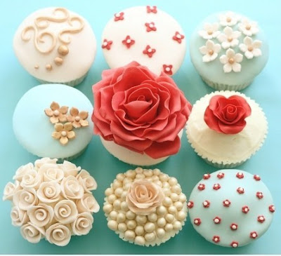 Happy Birthday Little Tigress! French+knot+cupcakes