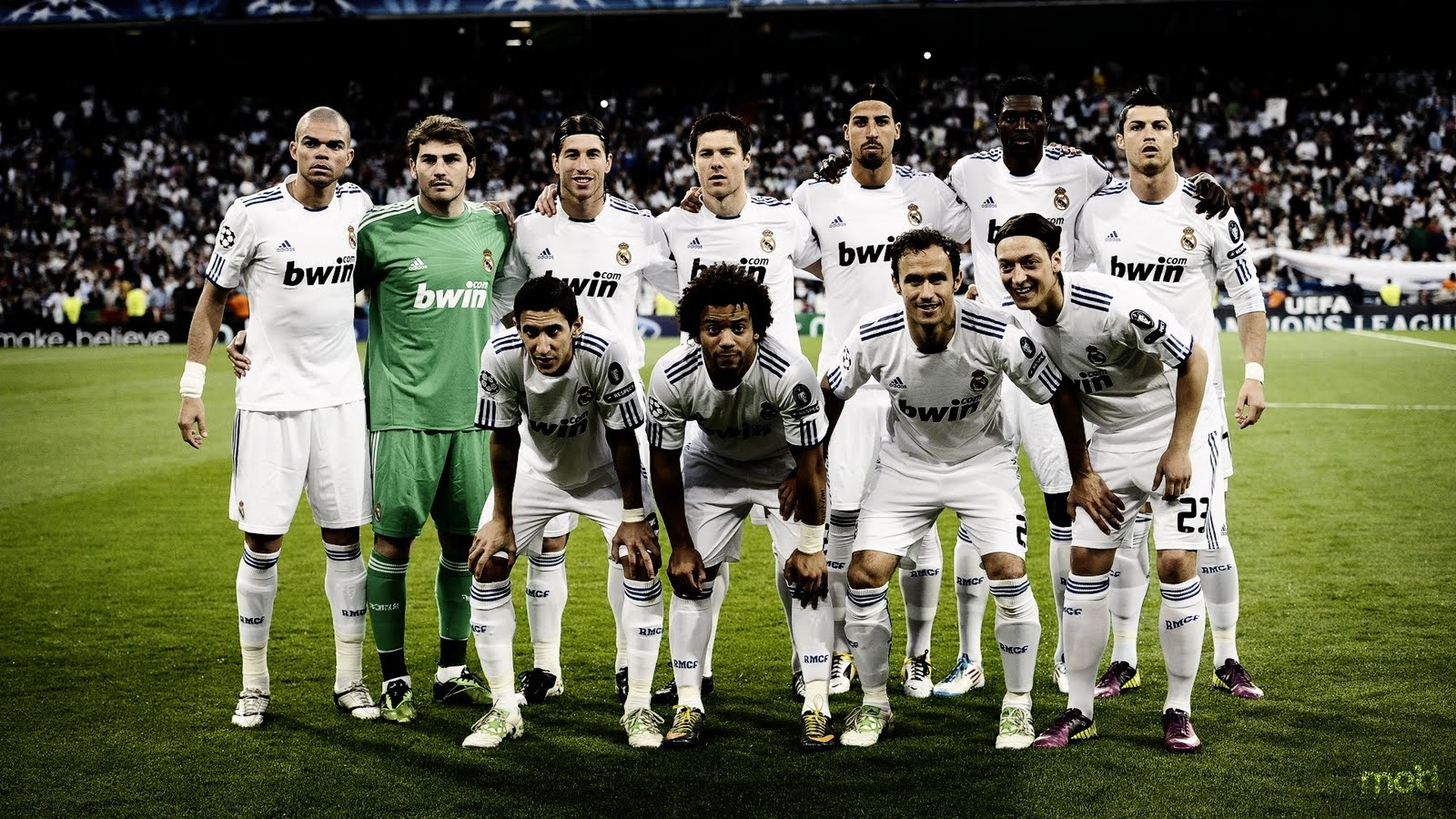 Real Madrid Line Up Player 2011