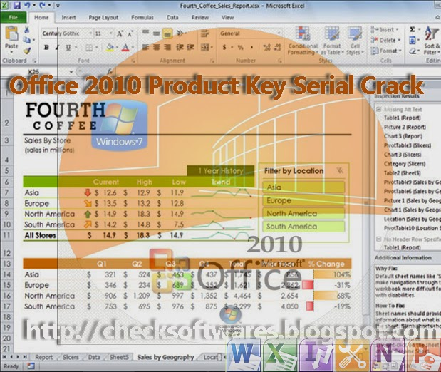 Microsoft office 2010 professional plus Serial activation product key activator keygen crack