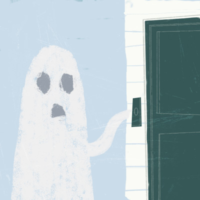 Illustration Friday - Haunt