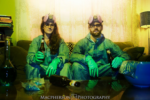 breaking bad engagement shoot