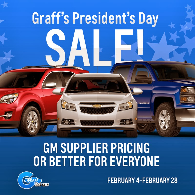 February Incentives at Graff Bay City