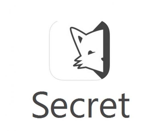 aplicativo secret