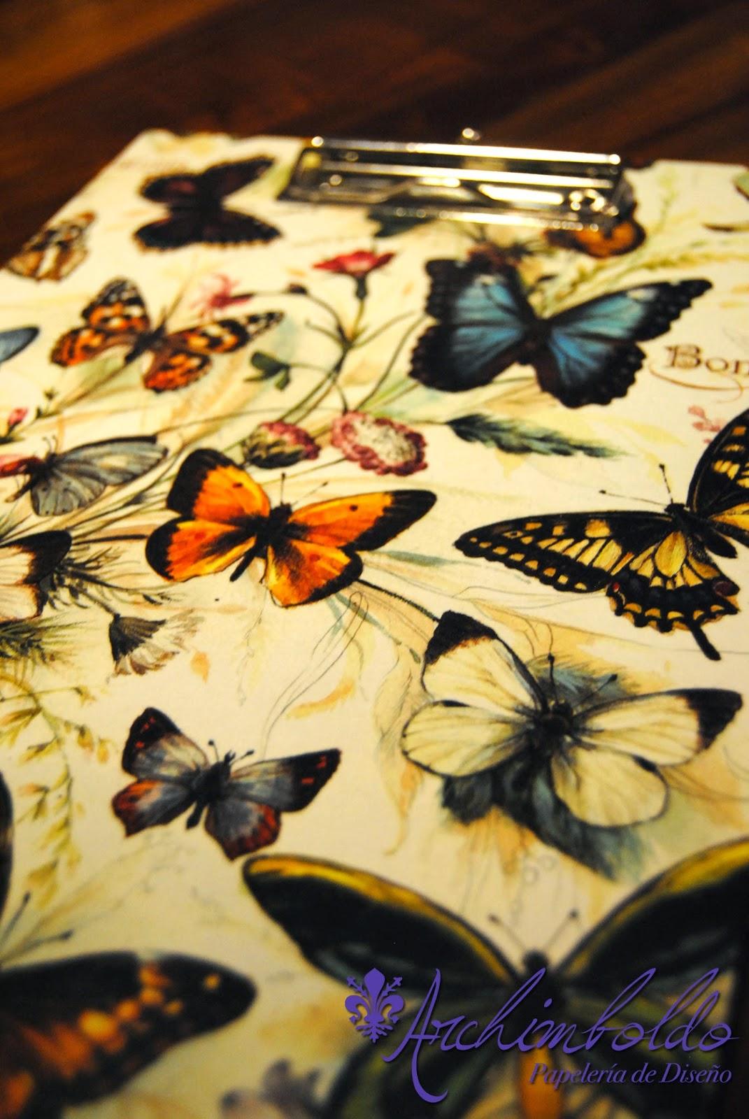 mariposas cartonnage bomo