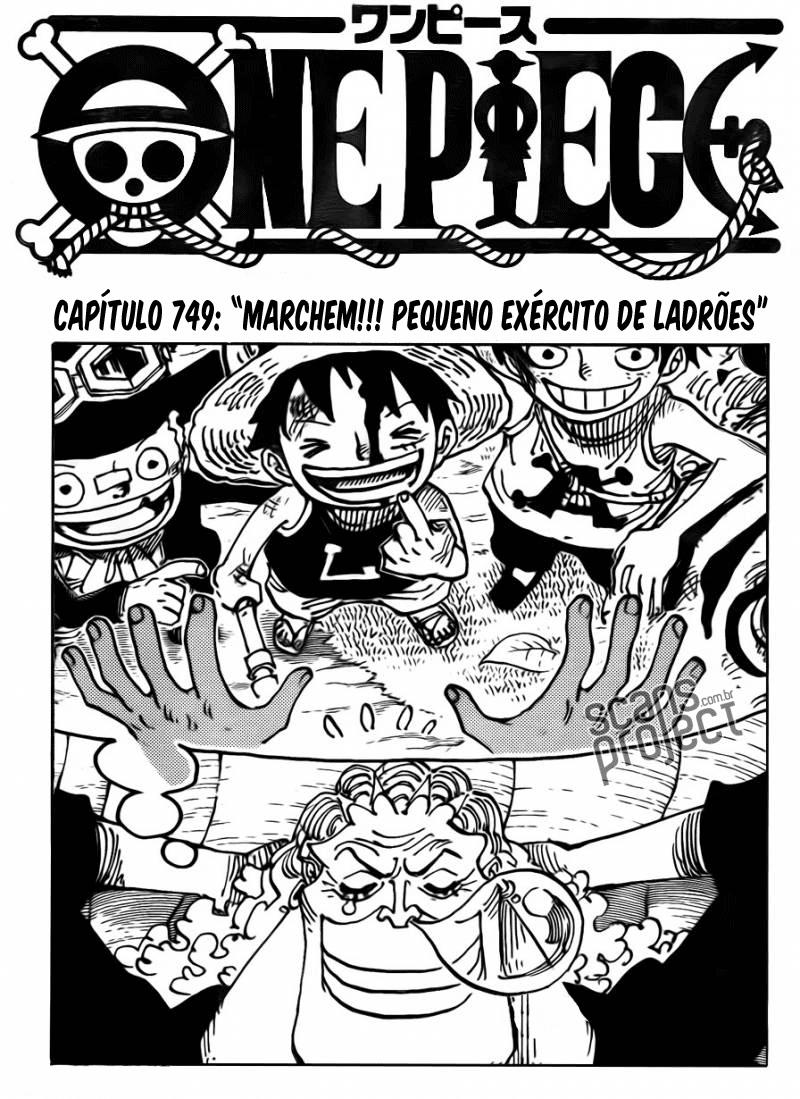 One Piece 749 Português Mangá leitura online