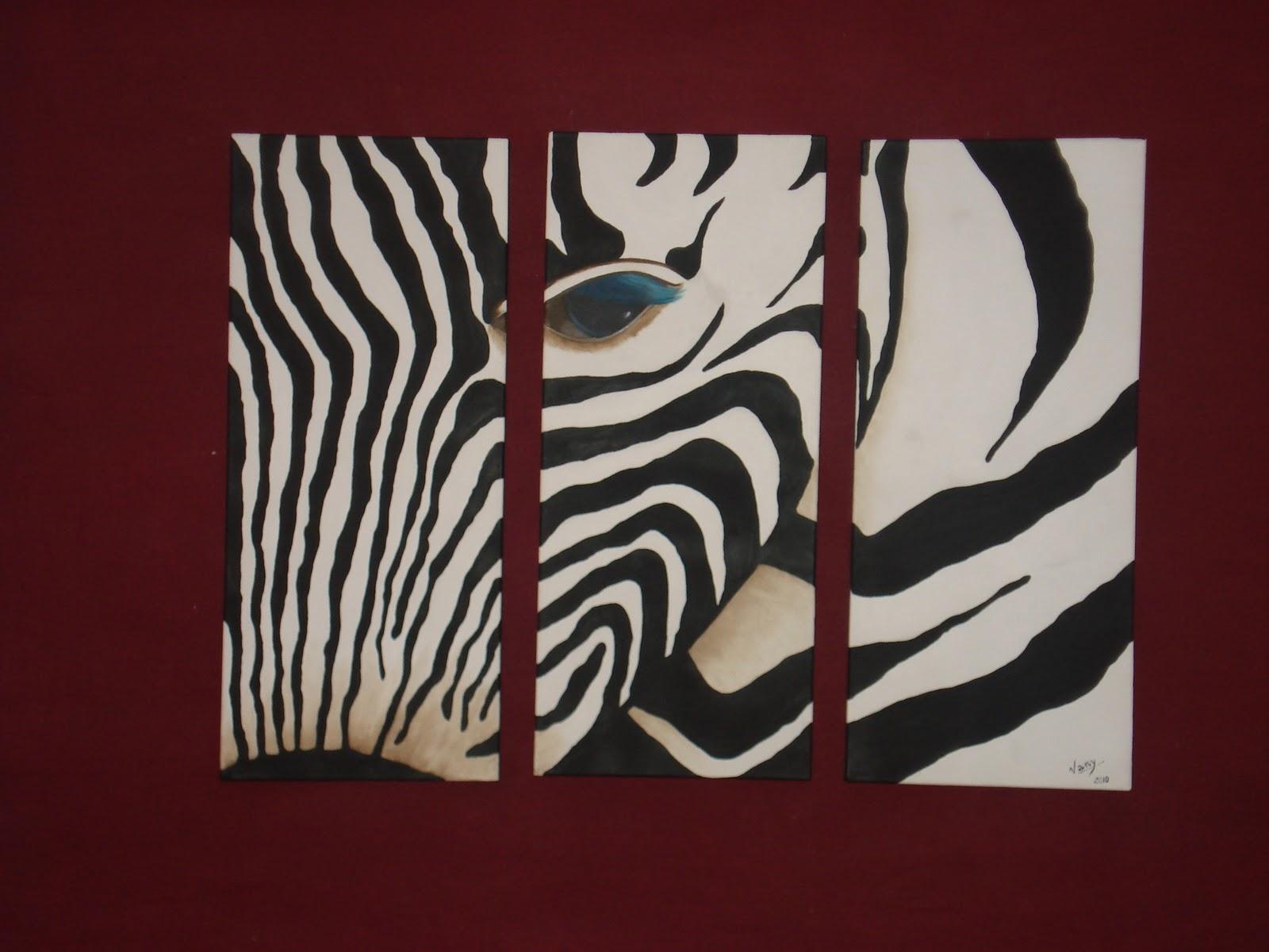 Cuadros de piel de cebras imagui - Cuadros de cebras ...