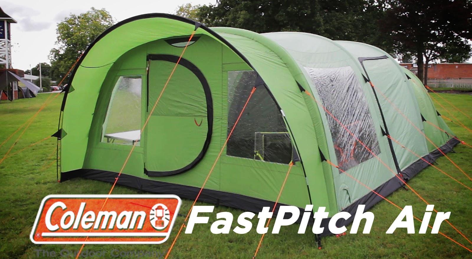 FastPitch Air - The Valdes Range & Three Zero Blog: Coleman FastPitch Air Tents