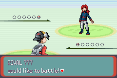 Emerald Hack - Pokemon Crystal Shards Version [English] Rival_Appears
