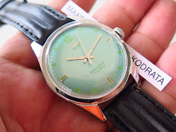 HMT JANATA PILOT GREEN TOSCA DIAL - MANUAL WINDING