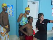 Tri-Kids Swim Practice