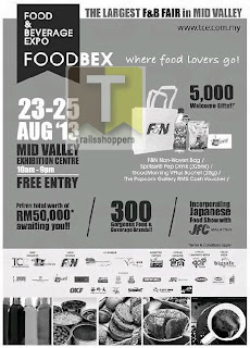 Food and Beverage Expo 2013 at Mid Valley megamall