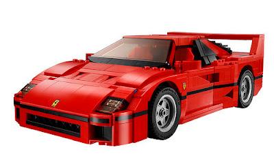 JUGUETES - LEGO Creator - 10248 Ferrari F40  Producto Oficial Toy 2015 | Piezas: 1158 | Edad:  +14 años  Comprar en Amazon.es