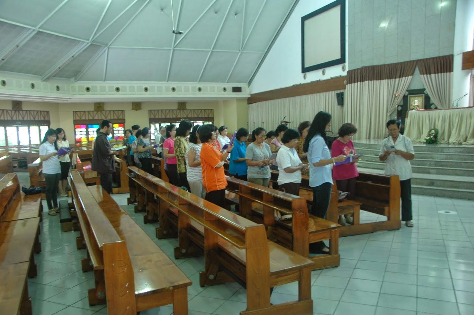 Jalan Salib 18 Juli 2014