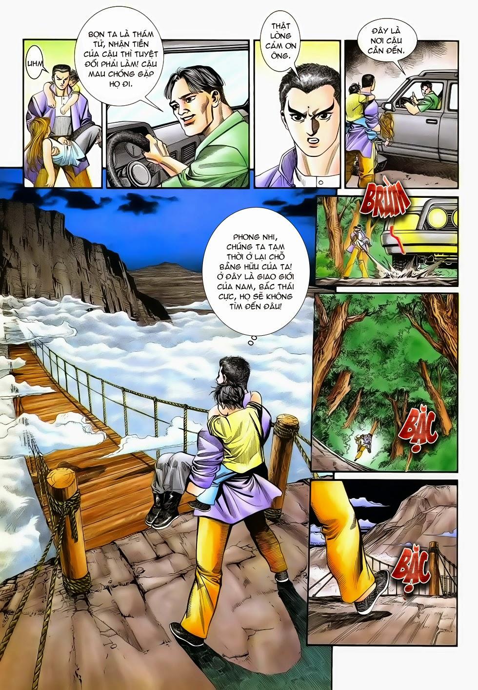 Long Hổ Phong Bạo chap 3 - Trang 33