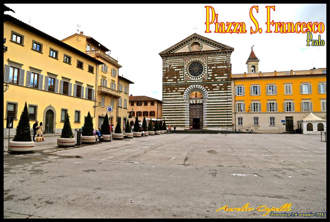 Vivere a pierino piazza san francesco prato for Piazza san francesco prato
