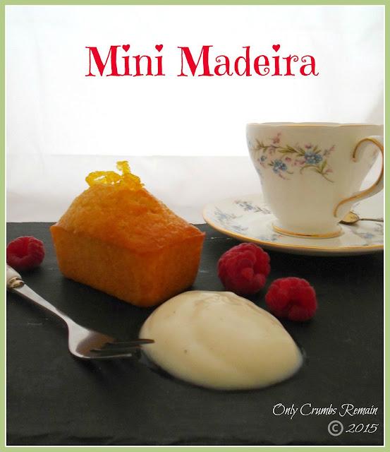 Mini Madeira Cake