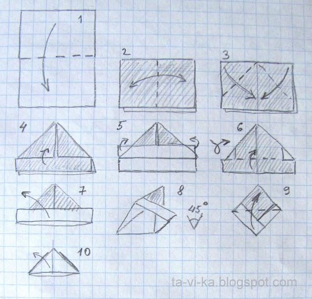 Треуголка из газеты своими руками 17