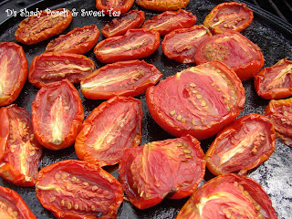 Smoke-dried Roma tomatoes by The Shady Porch