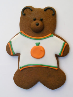 pumpkin shirt bear cookie