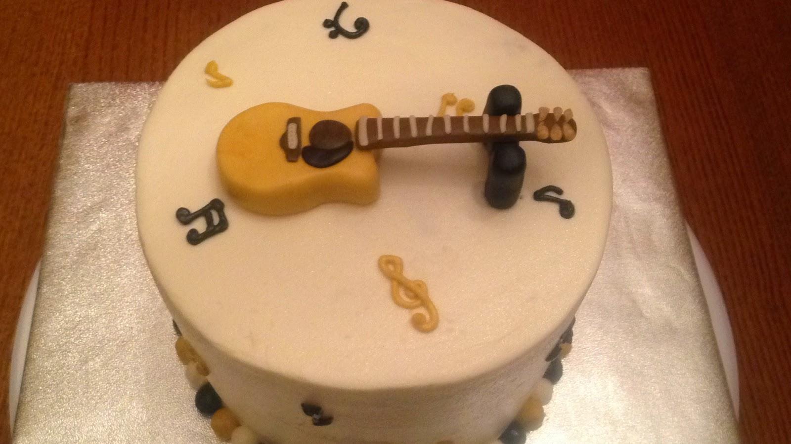 Happy Birthday Guitar Cake www.pixshark.com - Images ...