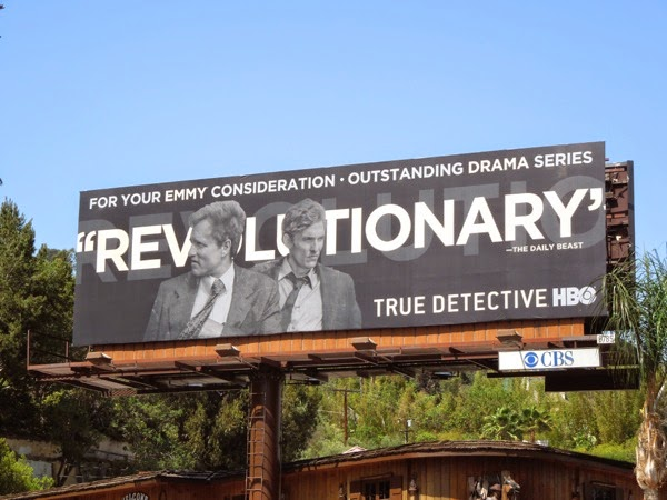 True Detective Revolutionary 2014 Emmy Consideration billboard