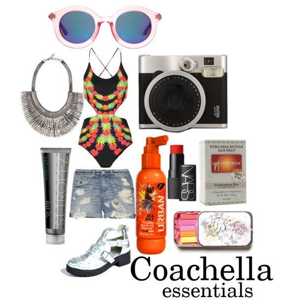 Coachella must haves, Coachella, festival shopping, Festive must haves, mara Hoffman, Urban fudge, St. Stropez, Stella and Dot, Fuji instant camera, Nars multiple, Mirrored Sunglasses, Best fashion blog, top fashion blogger, best lifestyle blog, Top Black fashion blogger,  taye hansberry, Summer shopping,  Summer Must haves