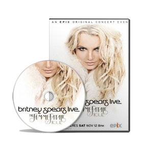DVD Britney Spears: Live The Femme Fatale Tour